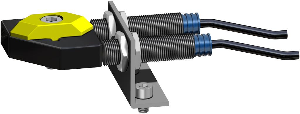 Attuatore pneumatico doppio effetto GD in alluminio - accessori - FINECORSA DI PROSSIMITA'