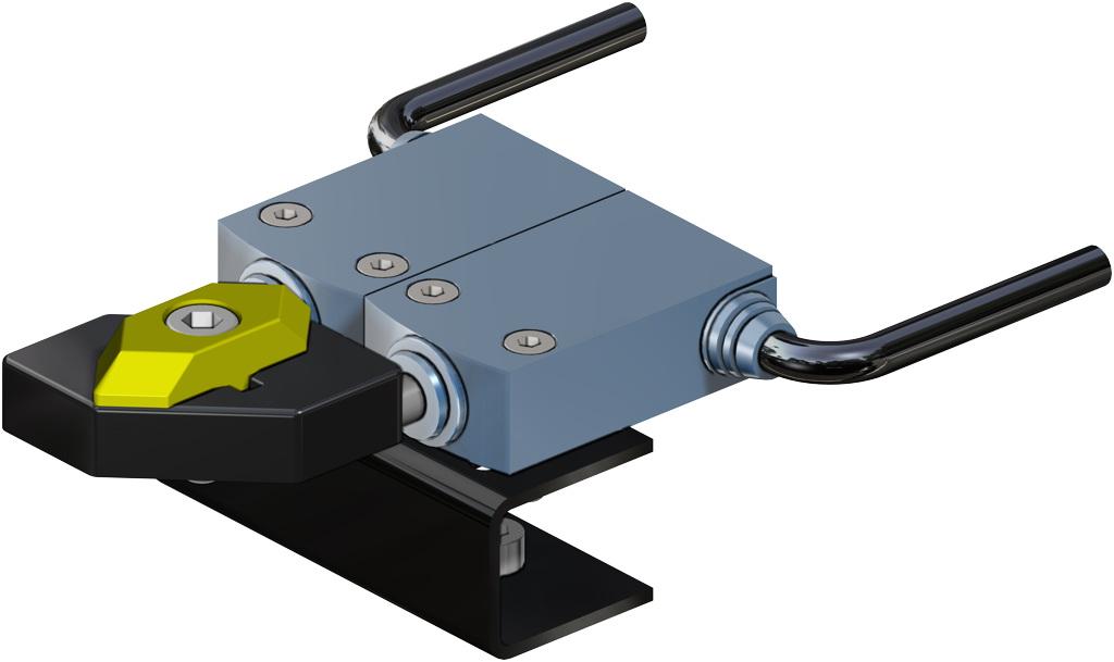 Attuatore pneumatico doppio effetto GD in alluminio - accessori - FINECORSA ELETTROMECCANICI