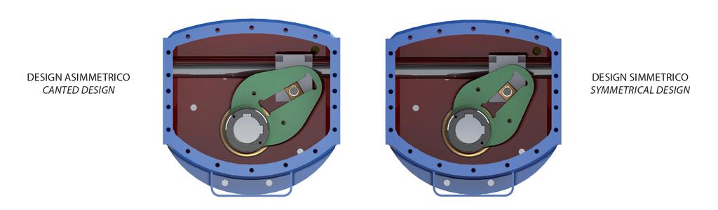 Attuatore pneumatico doppio effetto GD Heavy Duty acciaio carbonio - specifiche -