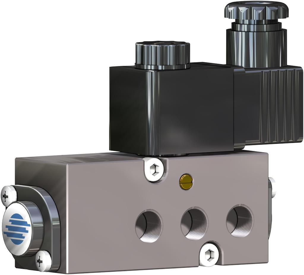 Attuatore pneumatico doppio effetto GD in alluminio - accessori - ELETTROVALVOLE NAMUR