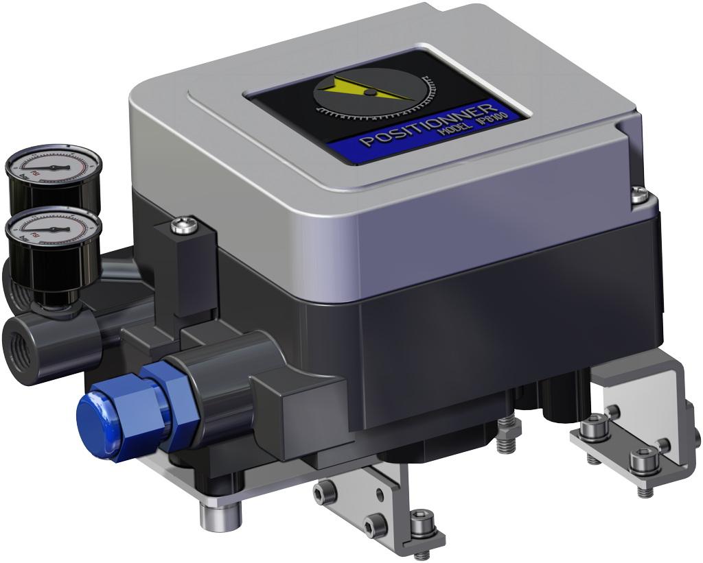 Attuatore pneumatico doppio effetto GD in alluminio - accessori - POSIZIONATORE ELETTROPNEUMATICO (SICUREZZA INTRINSECA)