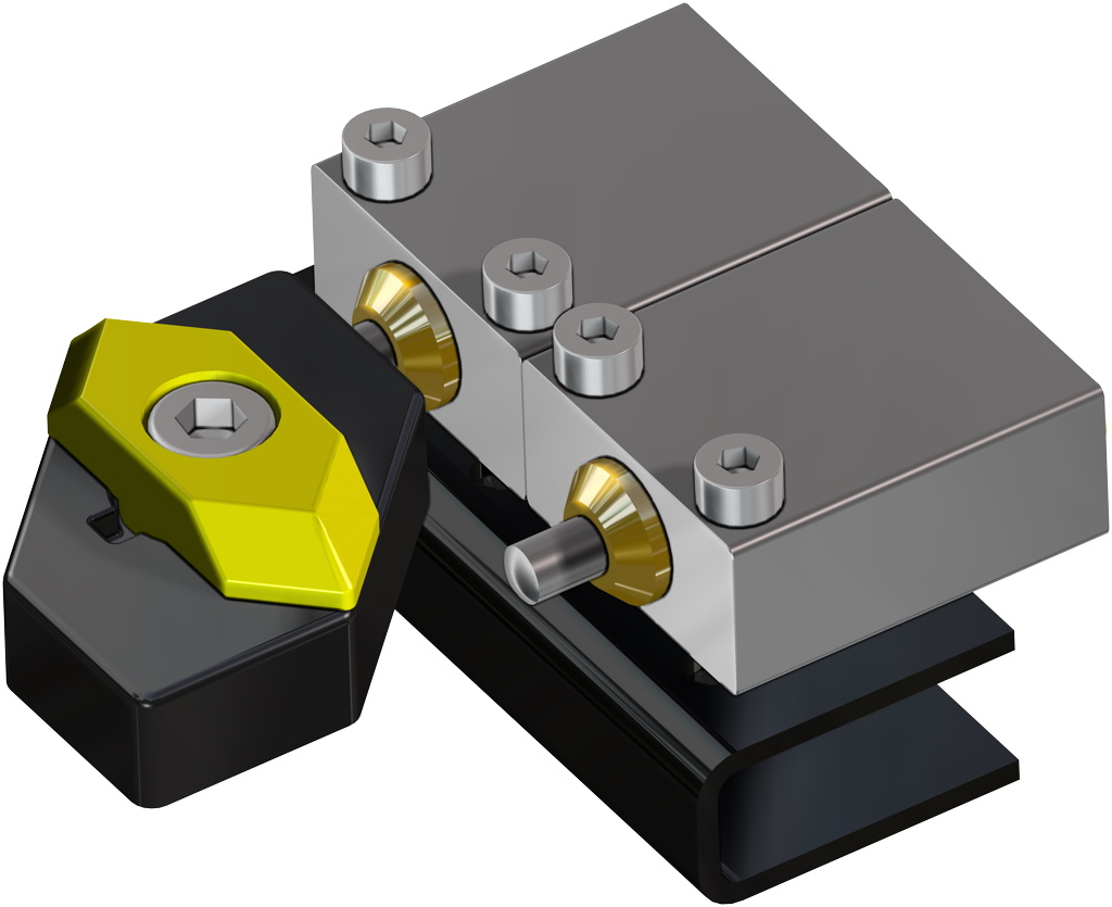 Attuatore pneumatico doppio effetto GD in alluminio - accessori - FINECORSA PNEUMATICI